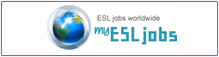My ESL Jobs provides FREE tools to help you find your TEFL/ESL jobs faster. Quick and easy registration gives you access to weekly jobsletter, personal resume web page and more.